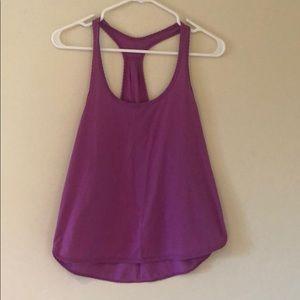 Lululemon purple 105 singlet